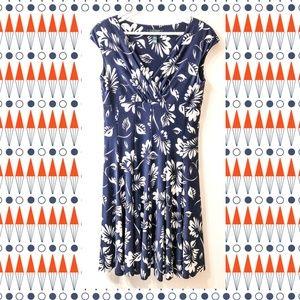 Lauren Ralph Lauren Flirty Blue Floral Dress